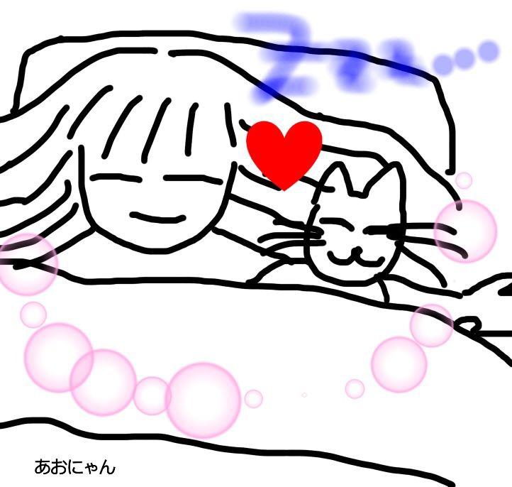 猫が添い寝してくる理由や気持ちは?位置は足元?顔のそば?
